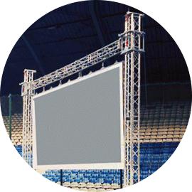 Estructuras y Torres para LED