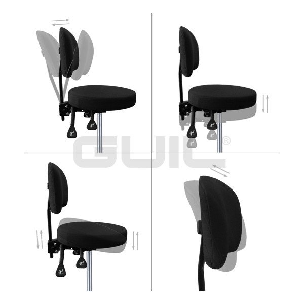 SL-60 Silla giratoria totalmente regulable para director de orquesta o percusionista